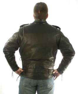 California Highway Patrol Leather Jacket