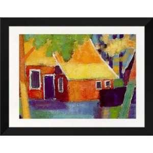 Alie Kruse Kolk FRAMED Art 28x36 Old Farmers House