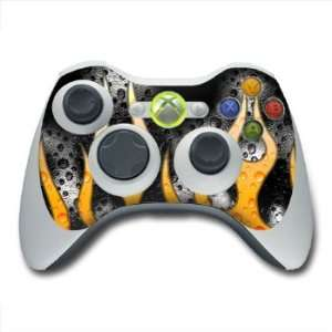 Heat Design Skin Decal Sticker for the Xbox 360 Controller