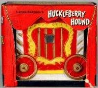 1963 Huckleberry Hound Marx Viewer Box
