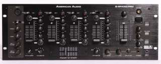 American Audio Q Spand PRO 4 Channel DJ Mixer 886830170515