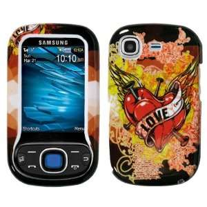 Love Tattoo Hard Case Protector Cover for Samsung A687 (Strive)