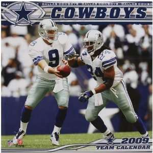 Dallas Cowboys 2009 Team Calendar:  Sports & Outdoors