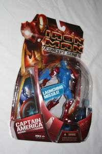 2008 Hasbro Iron Man 6 Inch Captain America Armor