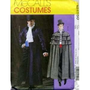 McCalls Mens Costume Size XM Small, Medium, Large Arts