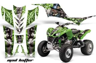 AMR QUAD GRAPHICS STICKER KIT KAWASAKI KFX700 KFX 700 G