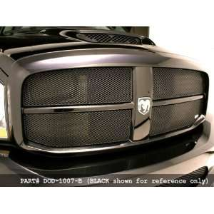 Dodge RAM Pickup 06 07 MX Series Grille Upper Insert 4pc in Silver