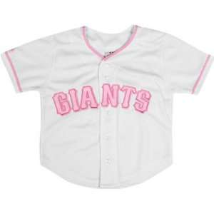 San Francisco Giants Infant MLB Pink Replica Jersey