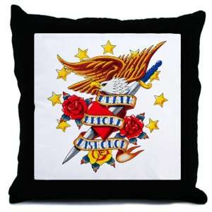 Throw Pillow Bald Eagle Death Before Dishonor: Everything Else