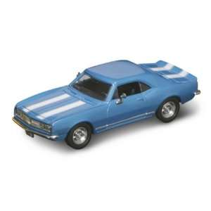 1967 Chevrolet Camaro Z 28 Blue 1/43 Diecast Car Model Toys & Games