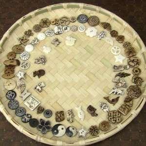 Wholesale Lot Yak Bone 300 Buttons each $ 0.50 Nepal