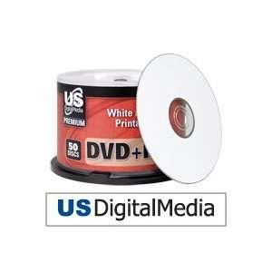 USDM Premium DVD+r White Inkjet Printable 16x Electronics