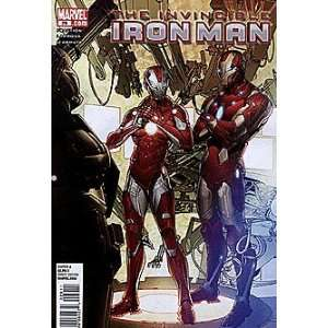 Invincible Iron Man (2008 series) #29: Marvel: Books