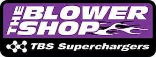 Set Black anodized blower supercharger stud nut kit