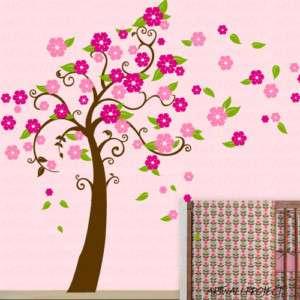 Nursery Wall Decal   New Flower Tree