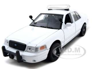2007 FORD CROWN VIC UNMARKED POLICE CAR WHITE 124
