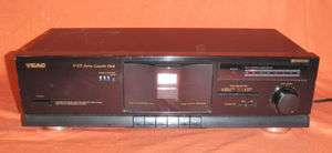 Teac V 375 Dolby Stereo Cassette Deck/ Tape Player H