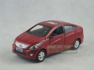 32 HYUNDAI VERNA red pull back car Metal Die Cast model Dieast