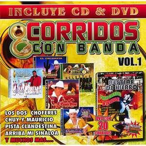 Corridos Con Banda, Vol.1 (CD/DVD), Varios Artistas