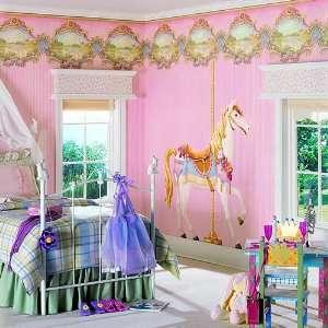 Carousel Dream Horse Wall Mural