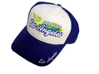 LOS ANGELES HOLYWOOD BASEBALL CAP/HAT ONE SIZE VELCRO