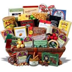 Show Christmas Gift Basket