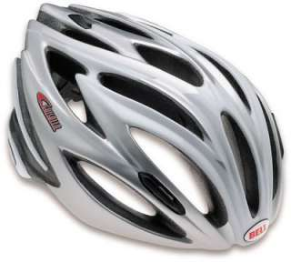 Bell Bicycle Bike Helmet Ghisallo White Silver Adult Size Large 59