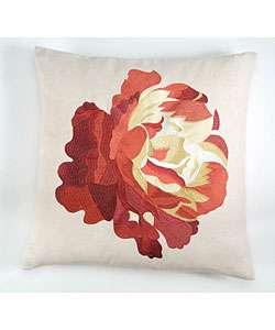Jane Seymour Ginger Snap Rose Art Pillow  Overstock