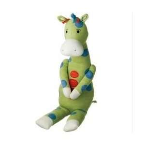 42 Gerrard Green Giraffe with Blue Spots Magnet Hands
