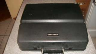 REED 8700 Classic Vintage Portable Electric Typewriter with Hard Case