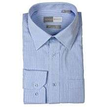 Giorgio Bianco Mens Blue Dress Shirt