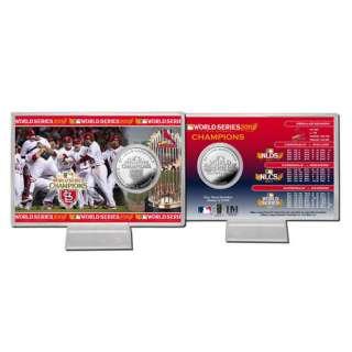 MLB   St. Louis Cardinals 2011 World Series Champions Silver Coin Card