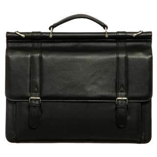 Amerileather Dowel Rod Briefcase  Overstock