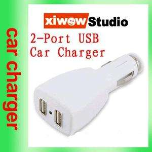 Dual 2 USB Port USB Car Auto Charger Adapter Universal