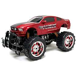 New Bright 110 Electric Monster Muscle Ford Mustang RC Car
