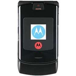 RAZR V3i Black Unlocked GSM Quadband Cell Phone