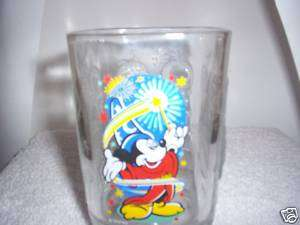 Walt Disney World 2000 Celebration Mickey Mouse Glass