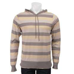 French Connection Mens Striped Hoodie