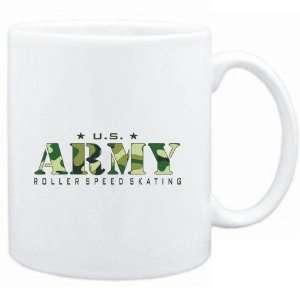 Mug White  US ARMY Roller Speed Skating / CAMOUFLAGE