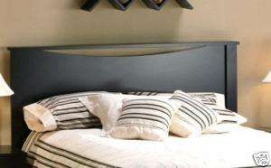 Modern Espresso Mocha Brown Full / Queen Bed Headboard