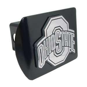 Ohio State University Buckeyes Black with Chrome O Emblem NCAA