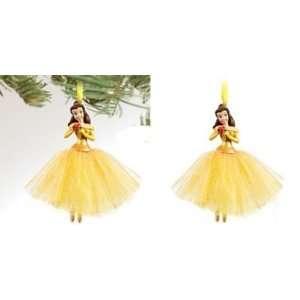 Disneys Beauty & the Beast Belle Dress Christmas Ornament