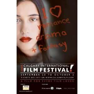 Calgary International Film Festival Movie Poster (11 x 17