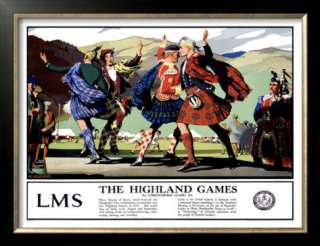 LMS, The Highland Games Posters by Christopher Clark at AllPosters