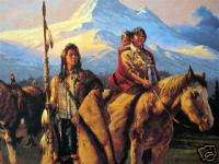 Place of My Dreams Chuck Ren Signed Native American Art |