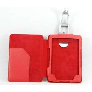New Red Leather Case Cover for  Kindle 4 4th Gen w
