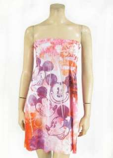 Mickey Mouse OR Tinkerbell Print Beach CoverUp Juniors S M L XL