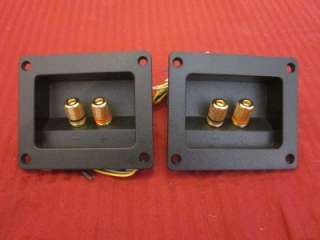 NEW Crossovers.PAIR.2 way Speaker Building X over.Terminals Cup.Input