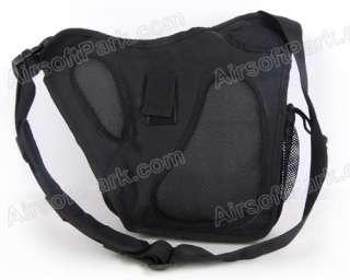 Tactical Utility Shoulder Backpack Bag Pouch Ver 2 Black