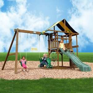 Creative Playthings Andover Swing Set Outdoor Play